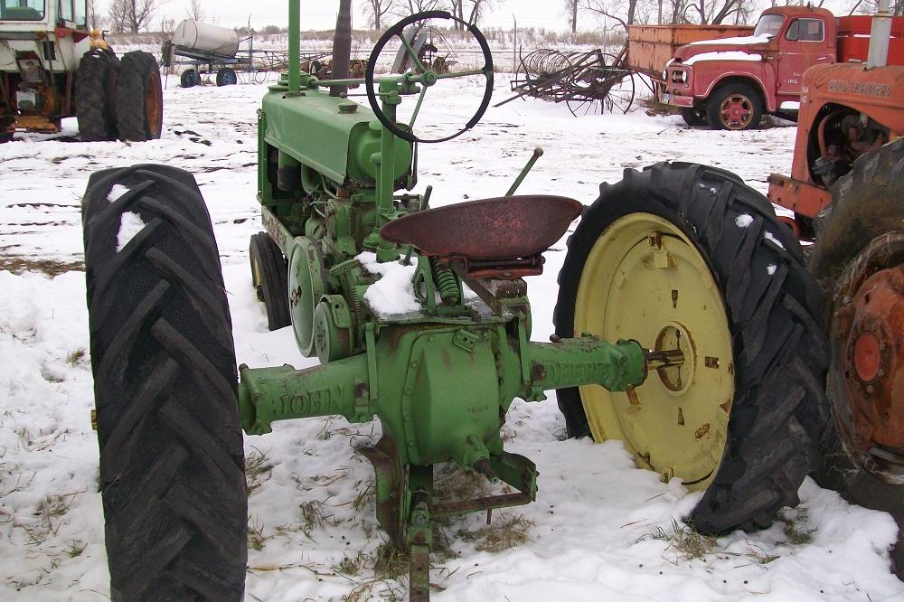 John deere for Scrap tractor tires