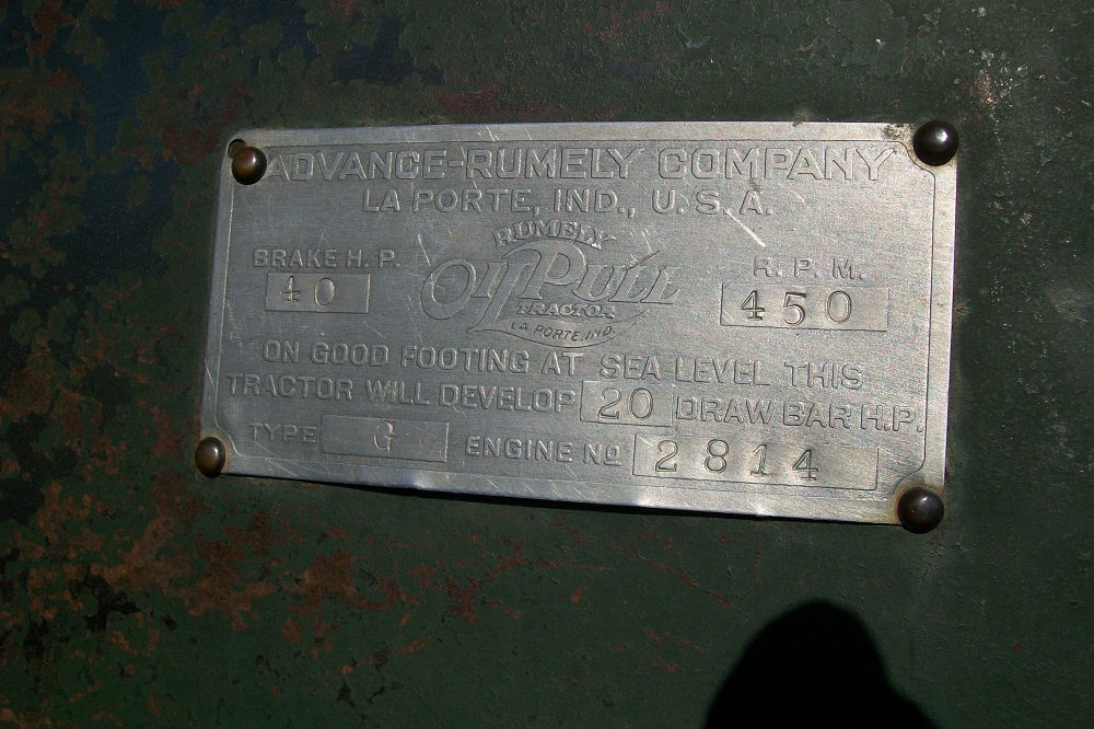 RUMLEY2040TRACTOR2944