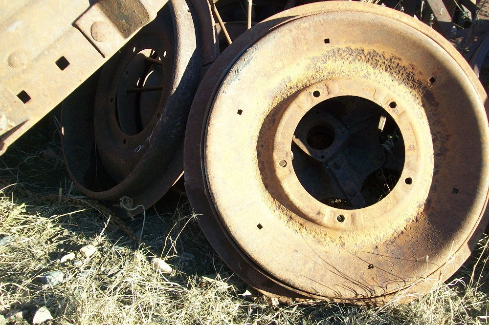 2n Ford Tractor Rims Used : Fordson n tractor front steel wheels biewer