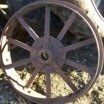RUMELY1525TRACTORFRONTSTEELWHEEL4405