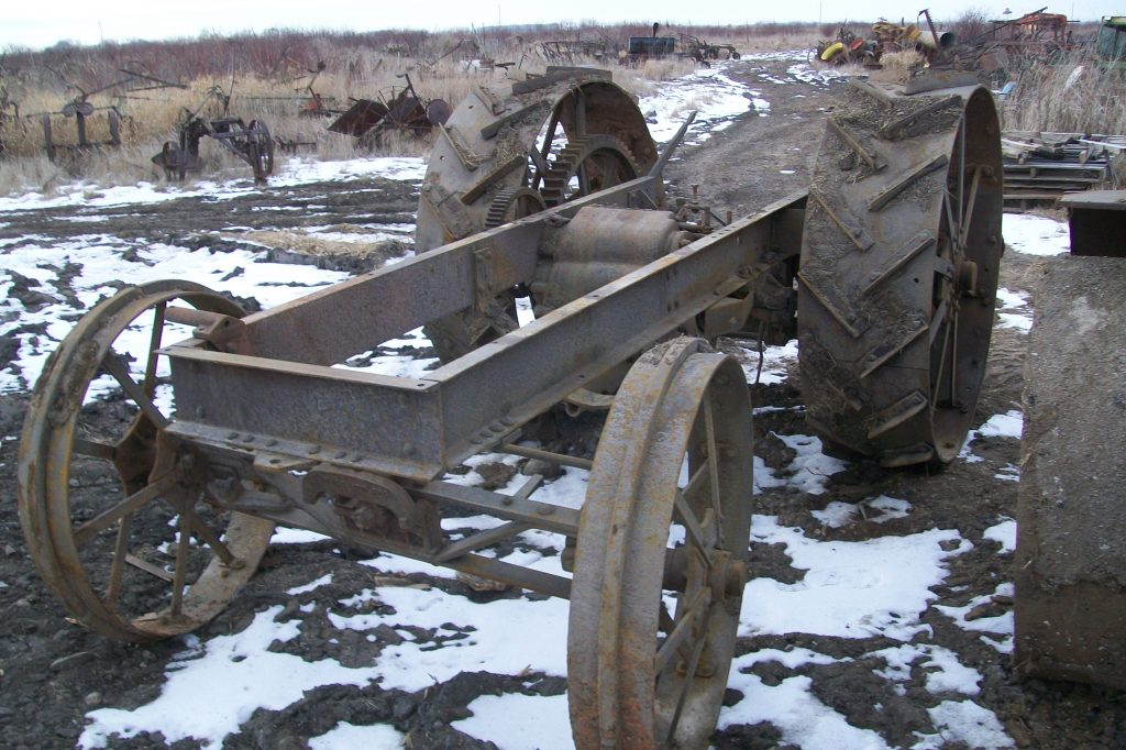 RUMELY1630TRACTORCHASSIS1630