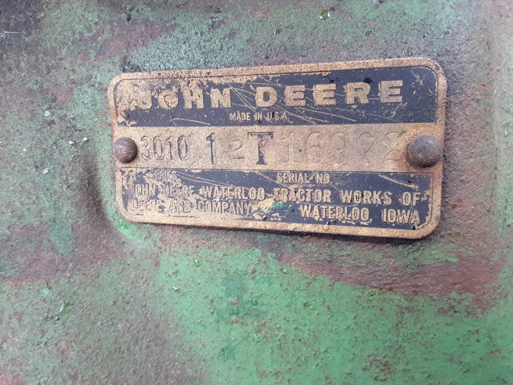 JOHNDEERE3010TRACTOR16982